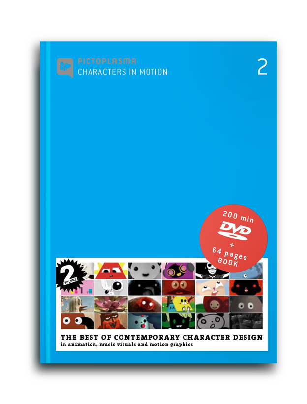 Characters in Motion, Vol. 2 – DVD